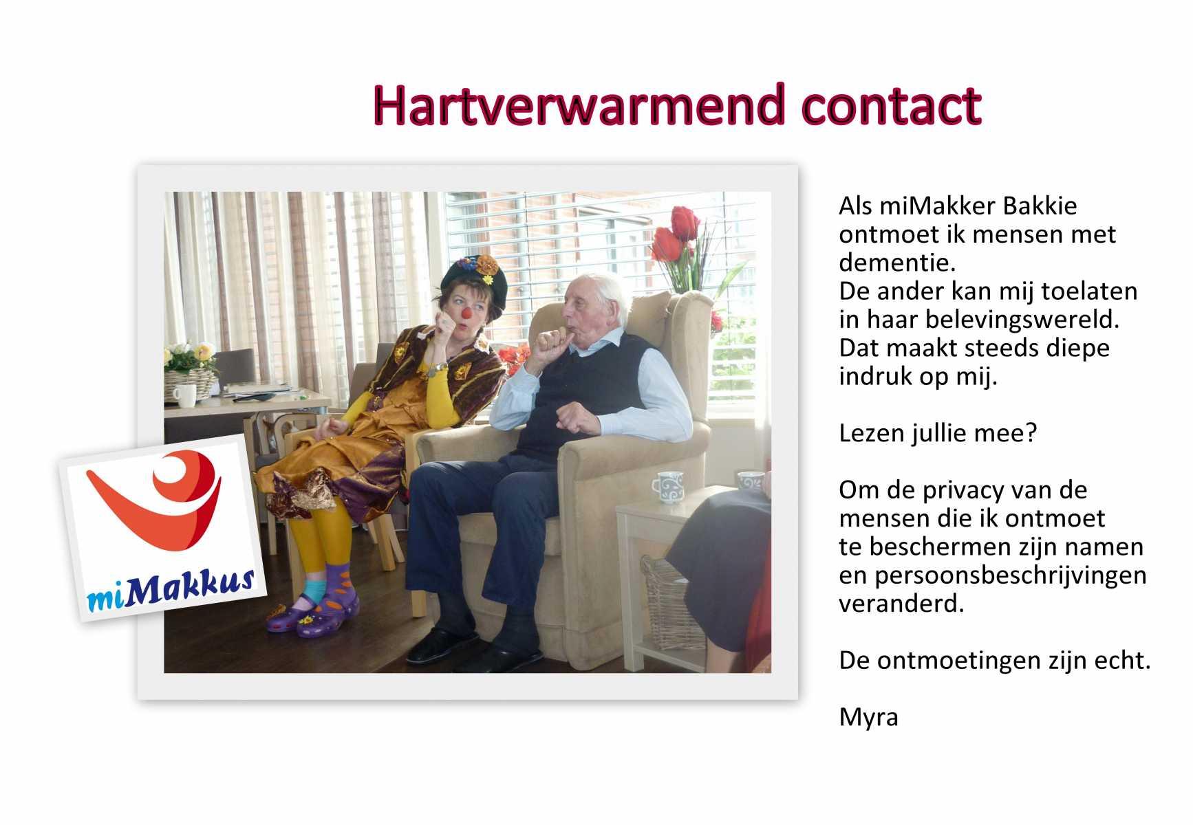 Fotokaart Bakkie Neus voor Contact bij Blog zakdoek www.neusvoorcontact.nl