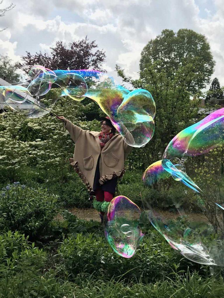 Belle Dame en haar zeepbellen